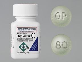 OXYCODONE 80MG PILLS